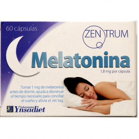 Melatonina 60 caps Zentrum