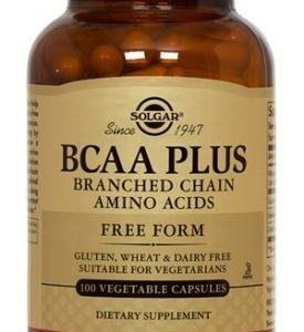 BCAA PLUS 100 capsulas vegetales Solgar