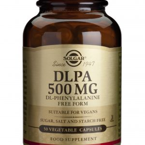 DLPA 500mg 50 capsulas vegetales Solgar