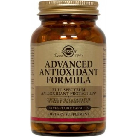 Formula antioxidante avanzada 60 capsulas vegetales Solgar