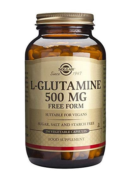 L-Glutamina 500mg 250 capsulas vegetales Solgar