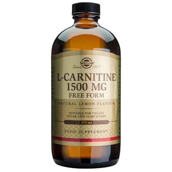 L carnitina liquida 1500mg 475ml Solgar