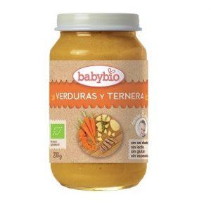 Potito verduras ternera 200g Babybio