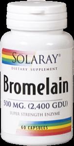 Bromelain 500mg 60 caps Solaray