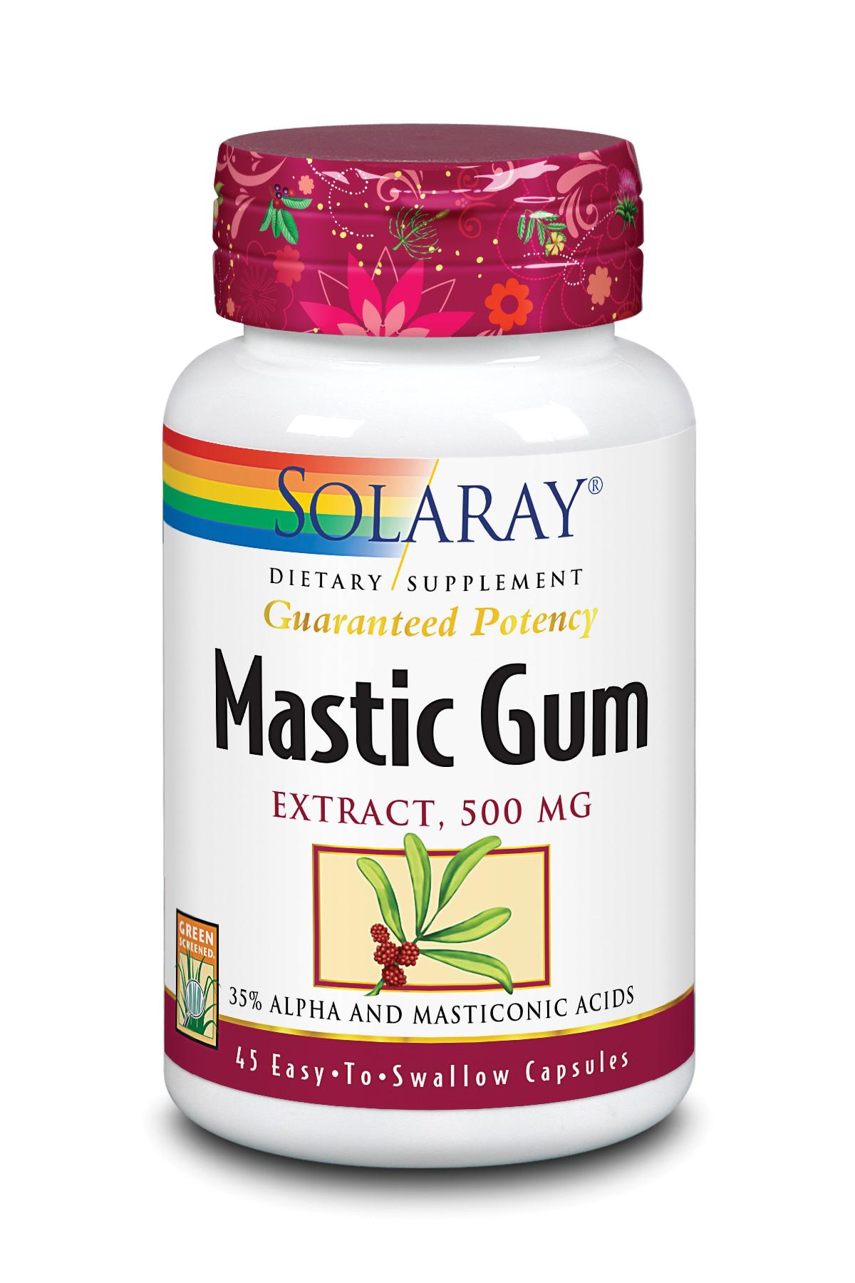 Mastic Gum 45 caps Solaray