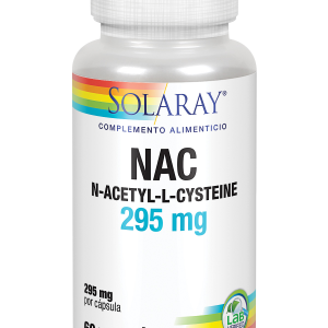 NAC- 295mg 60 caps Solaray
