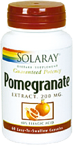 Pomegranate 200mg 60 caps Solaray