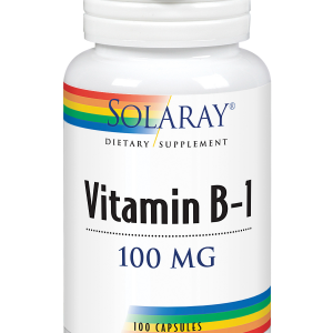 Vitamina B1 100mg 30 caps Solaray