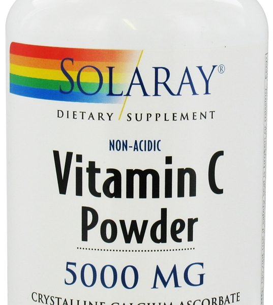Vitamina C No acida polvo 227g Solaray