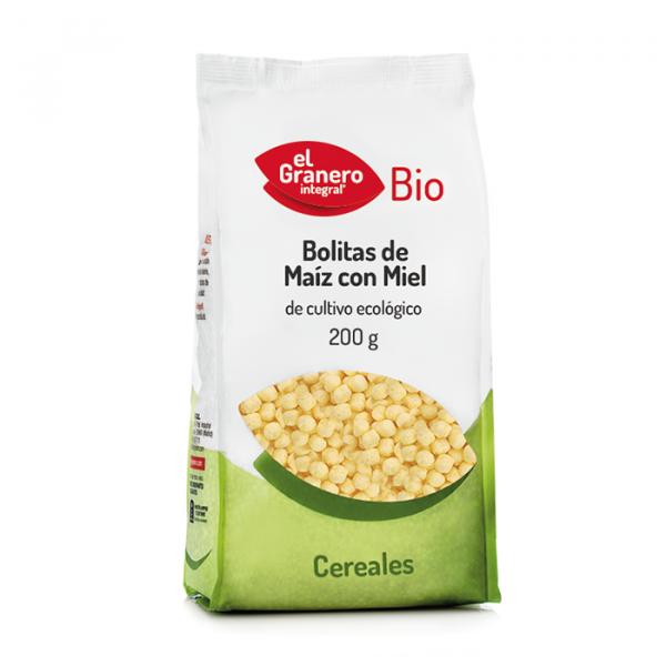 Bolitas Maiz con miel Bio 200g El Granero