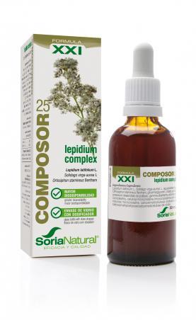 COMPOSOR 25 LEPIDIUM COMPLEX XXI SORIA NATURAL