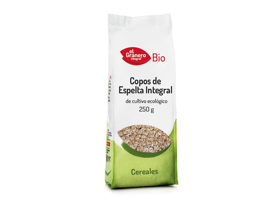 Copos Espelta Bio 250g El Granero