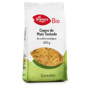 Copos Maiz Tostado Bio 400g El Granero