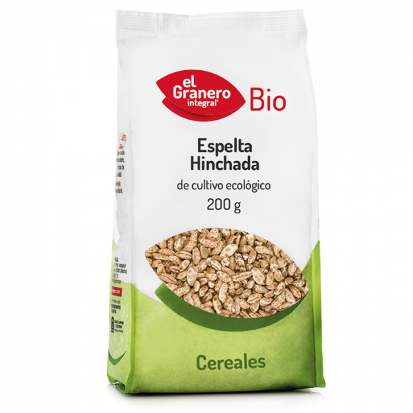 spelta hinchada 200g Bio El Granero