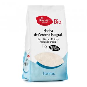 Harina Centeno Integral Bio 1kg El Granero