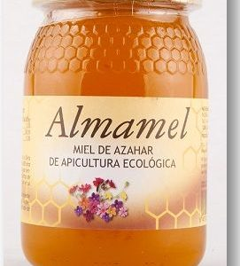 Miel Azahar Bio 500g Almamel (Miel Cruda)