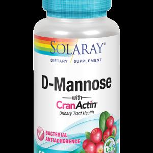 D-Manosa-CranActin 60 caps Solaray